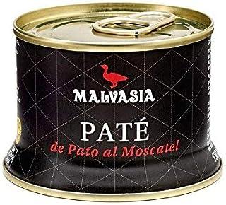 comprar comparacion Paté de Pato Gourmet de Sabor Suave al Moscatel Malvasía, lata abre fácil de 130 g