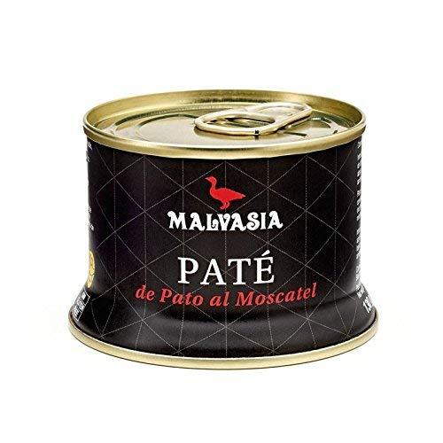 Paté de Pato Gourmet de Sabor Suave al Moscatel Malvasía, lata abre fácil de 130 g