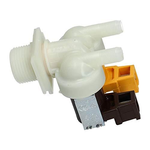 LUTH Premium Profi Parts Magnetventil Ventil Waschmaschine Bosch 087076 00087076 2-Fach 180° 10,5mmØ