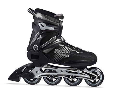 Fila reptix 84Inline Skate, unisex, Reptix 84, negro/plata, 10,5