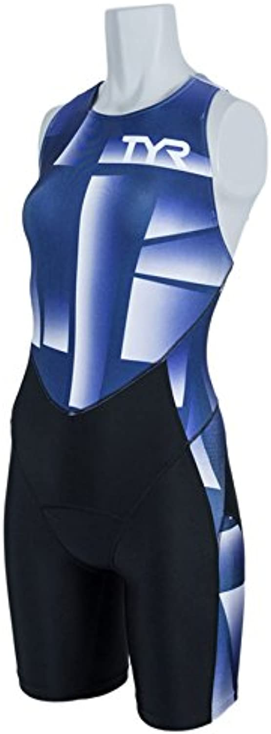 TYR(ティア) TRI-SUIT FOR SHORT COMP W/BACK ZIPPER SWST1-18S NV L