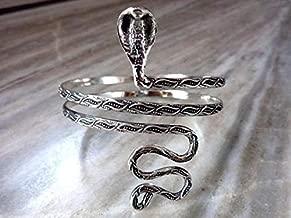 Serpent Snake Upper Arm Cuff- Snake Armlet Bracelet Armband Adjustable Wrap Upper Arm Cuff For Women Girl