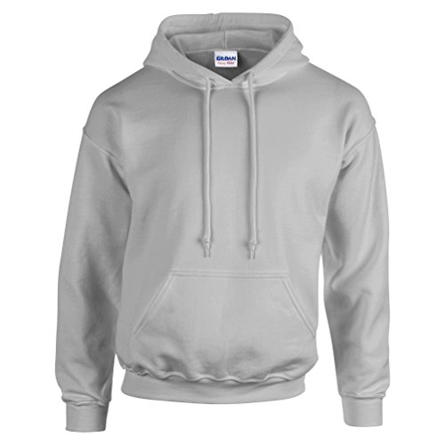 Gildan Men's Heavyweight Blend Hooded Sweatshirt,Sport Grey,4XL(XXXX-L)