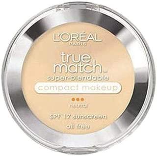 L'Oreal Paris True Match Super-blendable Compact Makeup - N2 Classic Ivory, 0.29 oz.