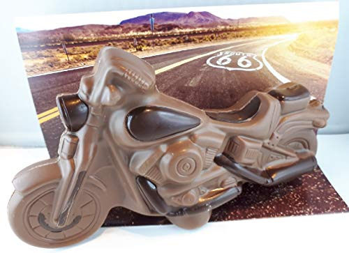Hussel Confiserie Motorrad aus Schokolade, 250 g