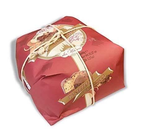 Klassischer handwerklicher Panettone - De Milan - Handverpackt - 1000g