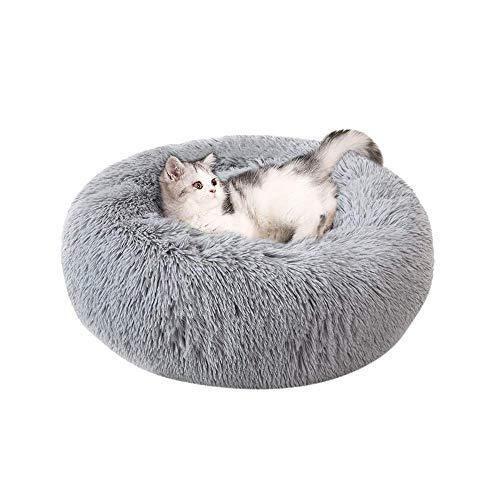 NIBESSER Hundebett Tierbtt Katzenbett Hundesofa Katzensofa Kissen Flauschig, Weich u. Waschbar für Katzen Hunde