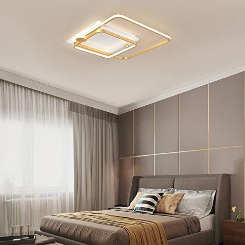 LED Deckenleuchte 42W Modern Deckenlampe Wohnzimmer Lampe 4000Lumen Kaltweiß/Warmweiß Dekorative Deckenbeleuchtung für Schlafzimmer Wohnzimmer Küche