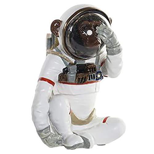 Figura de Resina, Mono Astronauta, Industrial y Moderno, Decoración Interior - Hogar y Más - C