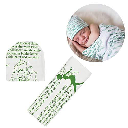 Fascigirl Baby Swaddle Wrap Lettres Créatives De Mode Sleep Wrap Photo Prop Avec Cache Tête