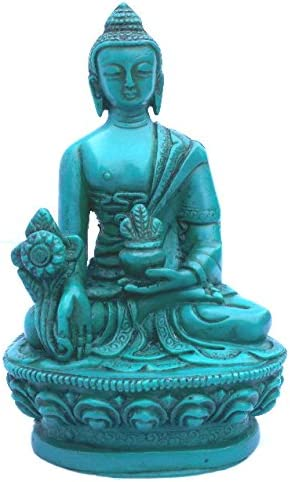 Medicine Buddha Max 65% OFF Turquoise for Healing Alter Courier shipping free Sm and Meditation