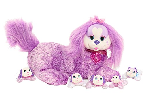 Puppy Surprise JPL42298 12' Plush Chloe, 8.603', Purple