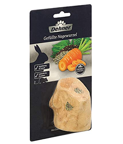 Dehner Premium Nagersnack, gefüllte Nagewurzel, 80 g