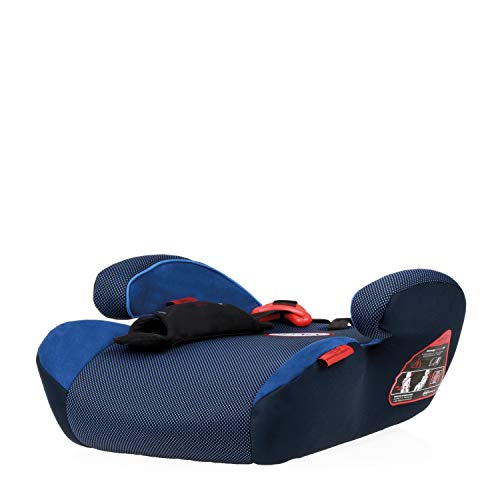 HEYNER® Kids 794100 Sitzerhöhung SafeUp M ERGO (II,III)Farbe Pantera Black (blau)