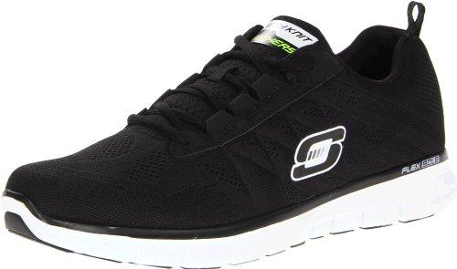 Skechers SynergyPower Switch, Sneakers Uomo, Nero (BKW), 40 EU