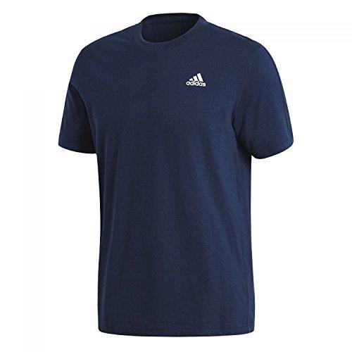 adidas Ess Base Tee Camiseta, Hombre, Azul (Maruni/Blanco), S