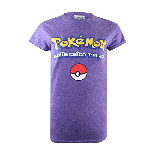Pokemon Logo T-Shirt voor dames