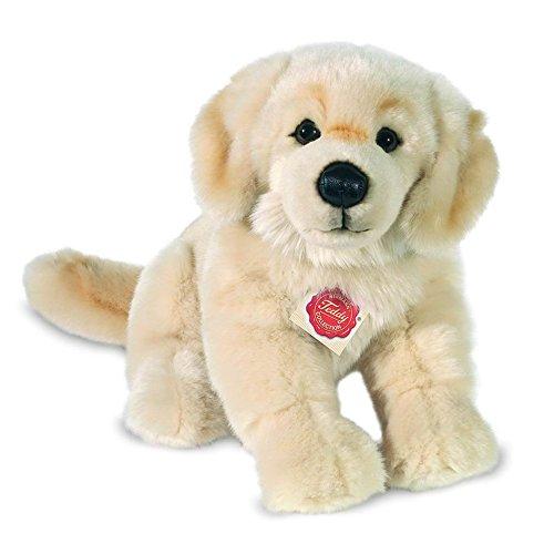 Teddy Hermann 92746 Hund Golden Retriever 30cm sitzend, Kuscheltier, Plüschtier