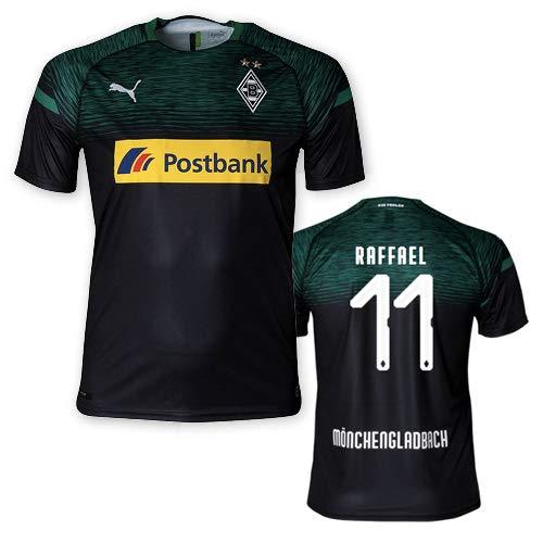 Puma BMG Borussia Mönchengladbach Auswärtstrikot Erwachsene 2018/19, Größe:L, Spielername:11 Raffael