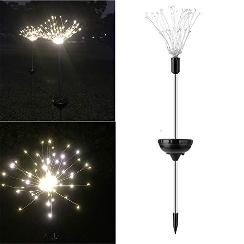 93 LED Solarenergie Gartenleuchte Christbeleuchtung LED Rasenlampe al aire libre