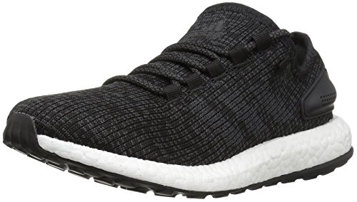 adidas Men's Pureboost, Dark Solid Grey/Black, 12.5 Medium US