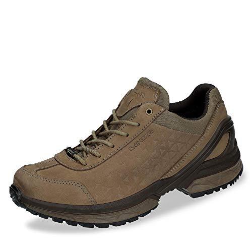 Lowa W Walker GTX Braun, Damen Gore-Tex Hiking- und Approachschuh, Größe EU 40 - Farbe Taupe