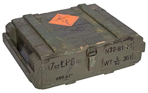 Caja de munición T45Natural-Caja para guardar CA 49x 37x 18cm Militar Caja Munitions Caja de madera caja de madera cajón-estantería manzana caja Shabby Vintage