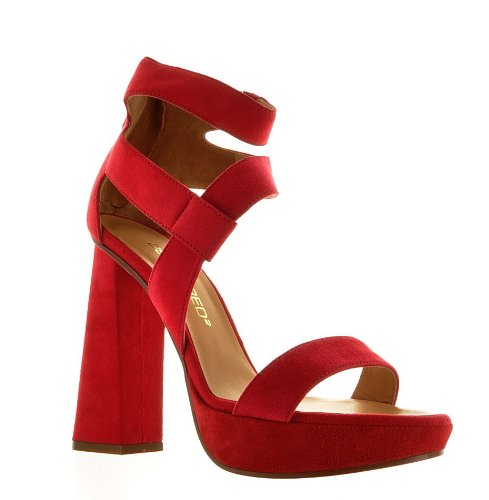 Dsquared Red Real Leather Shoes, 37, Red