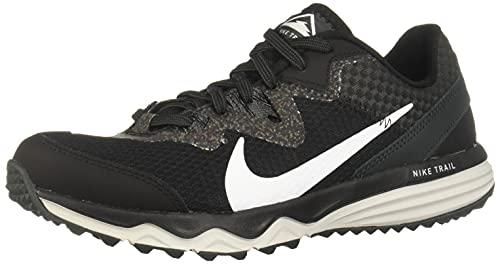 Nike Damen Juniper Trail Traillaufschuh, Black/White-Dark Smoke Grey-Grey Fog, 39 EU