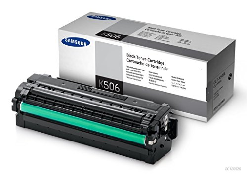 1x Original XL Toner Samsung CLT-K506L CLX 6260 FD, FR, FW, ND - BLACK - Leistung: ca. 6000 Seiten -