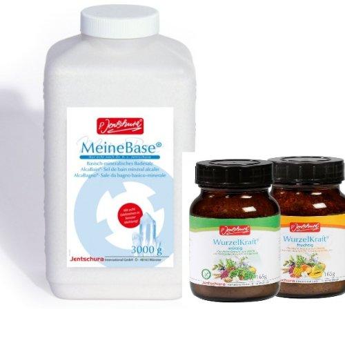 P.Jentschura MeineBase 3000g + Wurzelkraft 66 g fruchtig oder würzig