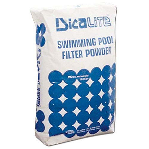Dicalite Minerals DicaLite-100A DE Swimming Pool Filter Media-100 Pounds, White