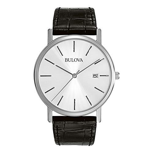 Bulova Relógio masculino 96B104 de aço inoxidável