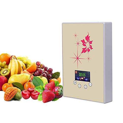 PUKEFNU Split Doppelzweck-Ozon-Generator Obst Und Gemüse Sterilisation Reinigungsmaschine Multifunktionsgemüse Waschmaschine Intelligent Gemüsewaschmaschine