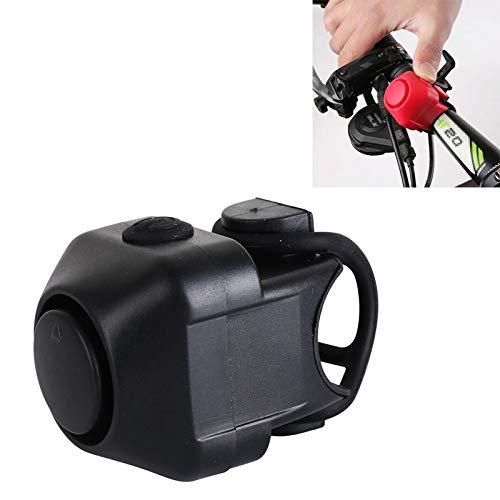 TLF Fahrradanhänger Elektro-Horn, mit Glocke. (Color : Black)