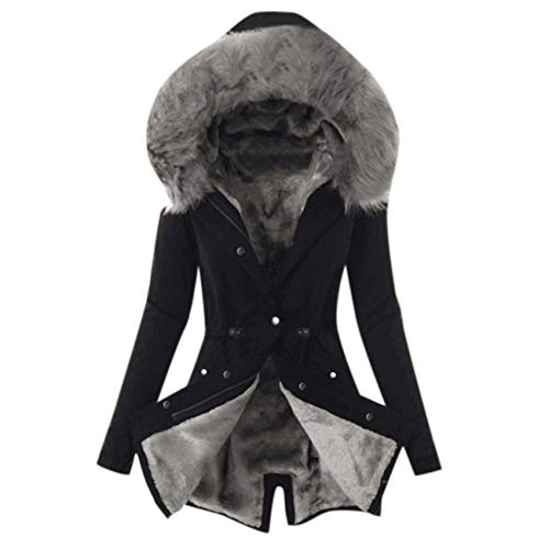 Memorial Style Jacket For Women Warm Thicken Coat Fur Collar Female Warm Snow Jacket Coat Ladies