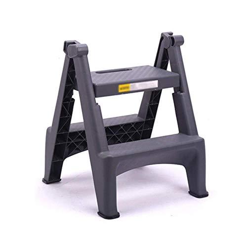 ASDAD Ladder Kruk 2 Stap Curver Plastic Vouwen Draagbare Anti Slip Mat Tread Compact 150 Kg Capaciteit