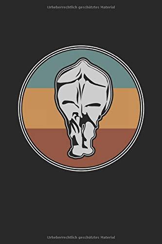 Notizbuch Nashorn Rhinozeros: Weißes Papier I 120 Seiten I Gepunktet I Kladde I Notizheft I Skizzenbuch I