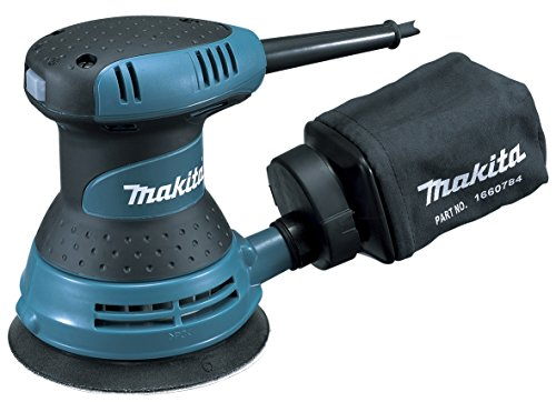 Makita BO5030 BO5030-Lijadora Rotorbital 125Mm 300W, 300 W, 240 V, Multicolor, Small