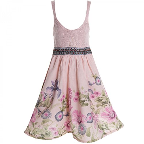 BEZLIT Mädchen Sommerkleid Petticoat 20423 Rosa Größe 164