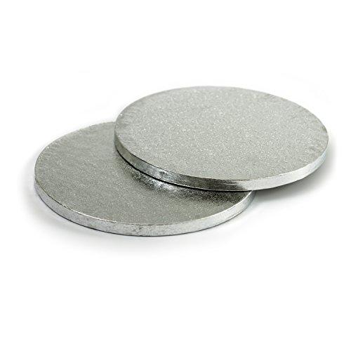 Decora 0931244 CF 2 CAKEBORD RUND Silver Ø 28 cm