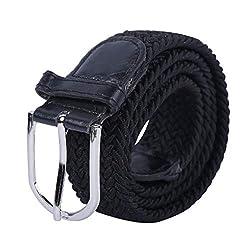 Zacharias Girls Stretchable Belt Black Free Size
