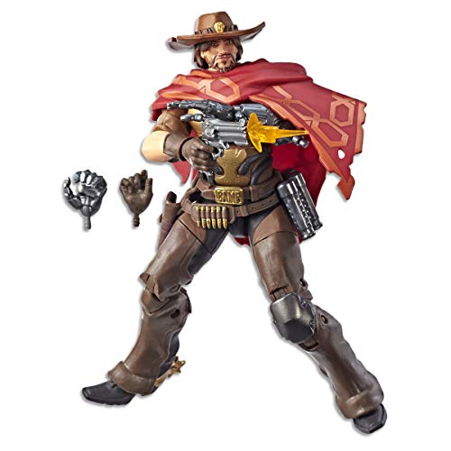 "Hasbro Overwatch Ultimates Series McCree 6"" Collectible Action Figure"