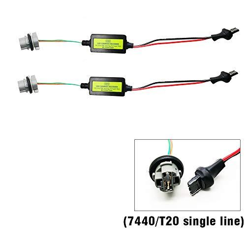 2pcs H8//H9//H11 LED Scheinwerfer Canbus Decoder Anti-Flicker Resistor DE