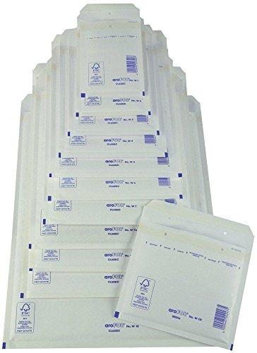 Preisvergleich Produktbild Arofol 2FVAF000189 Luftpolstertaschen Nummer 9,  10 Stück,  300x445 mm,  weiß
