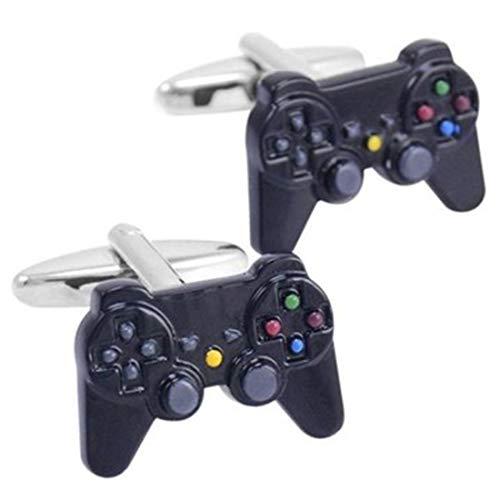 Peora Video Game Controller Shirt Cufflinks for Men Business Corporate Wedding Gift