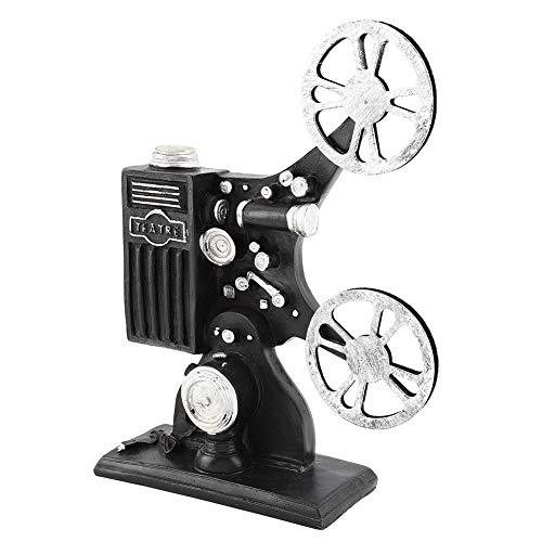 Modello di proiettore cinematografico - Modello in resina vintage Modello di proiettore cinematografico Figurine Figure Puntelli Decorazioni per la casa