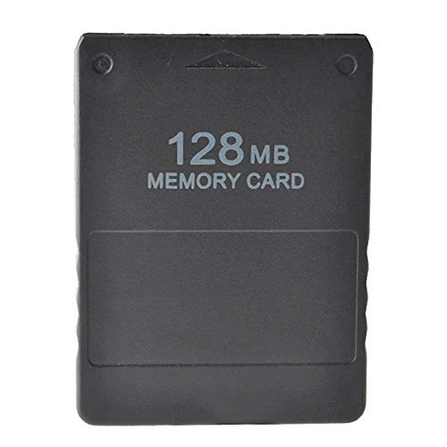 Bruce & Shark PS2 Memory Card 128MB Fit for SONY PLAYSTATION 2 PS2 SLIM GAME DATE CONSOLE