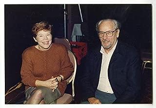 Eli Wallach & Anne Jackson - Vintage Peter Warrack Candid Photo