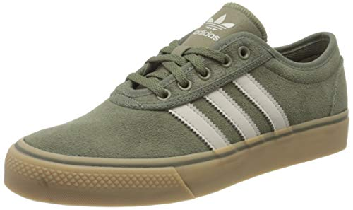 adidas Adiease, Zapatillas Unisex Adulto, Legacy Green/Clear Brown/Gum, 42 2/3 EU
